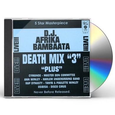 Afrika Bambaataa DEATH MIX 3 CD