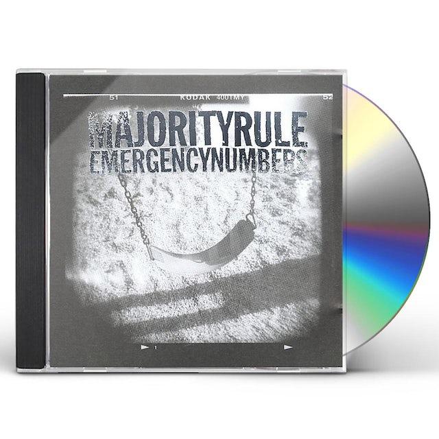Majority Rule EMERGENCY NUMBERS CD