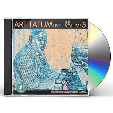 Art Tatum LIVE 1951 5 CD