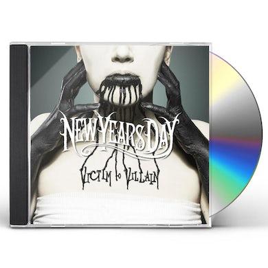 New Years Day VICTIM TO VILLAIN CD