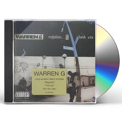 Warren G REGULATE G-FUNK ERA CD