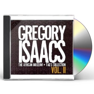 Gregory Isaacs AFRICAN MUSEUM & TADS COLLECTIONS 2 CD
