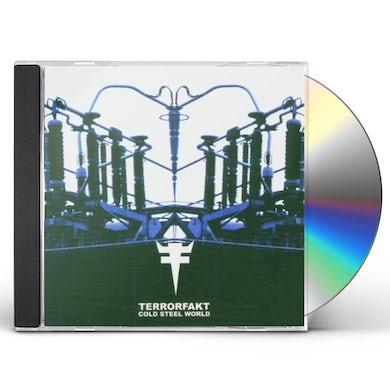 Terrorfakt COLD STEEL WORLD CD