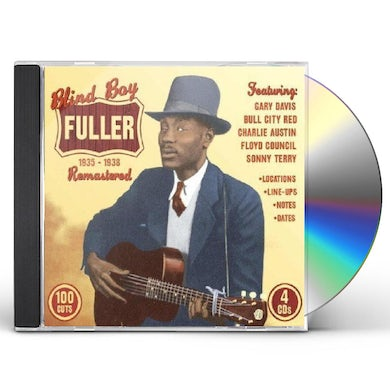 Blind Boy Fuller REMASTERED 1935-1938 CD