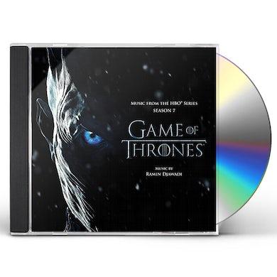 RAMIN DJAWADI GAME OF THRONES 7 (MUSIC FROM THE HBO SERIES) CD