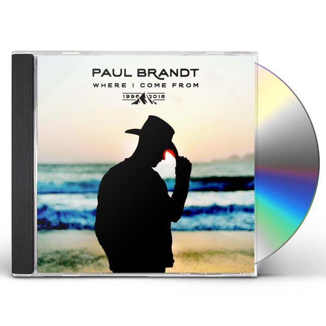 Paul Brandt WHERE I COME FROM 1996-2016 CD