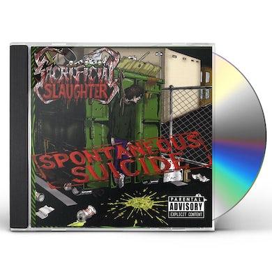 Sacrificial Slaughter SPONTANEOUS SUICIDE CD