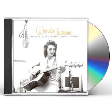 Wanda Jackson BEST OF THE CLASSIC CAPITOL SINGLES CD
