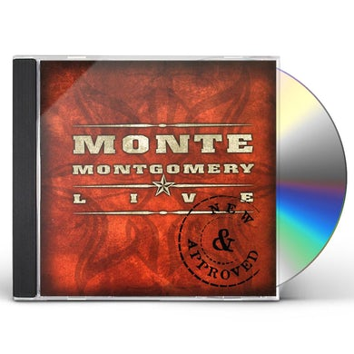 Monte Montgomery NEW & APPROVED CD