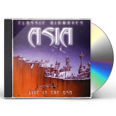 Asia CLASSIC AIRWAVES-LIVE IN THE USA CD