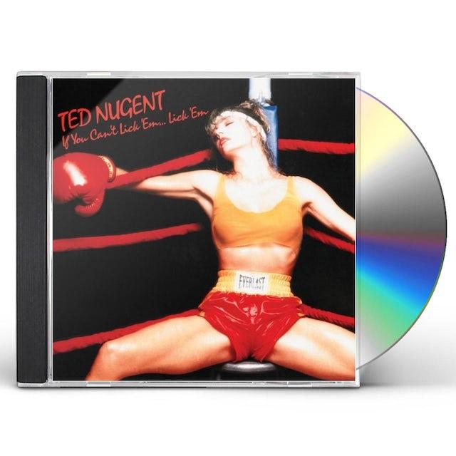 Ted Nugent IF YOU CAN'T LICK EM LICK EM CD