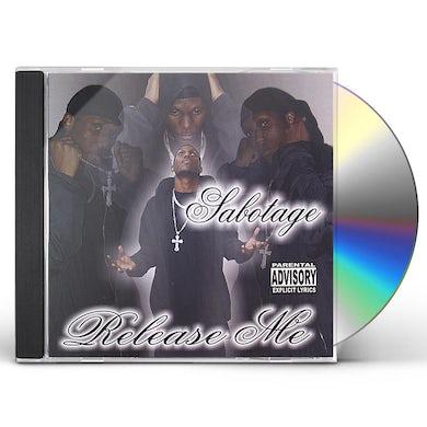 Sabotage RELEASE ME CD