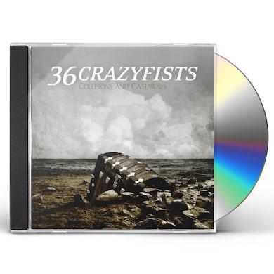 36 Crazyfists COLLISIONS & CASTAWAYS CD