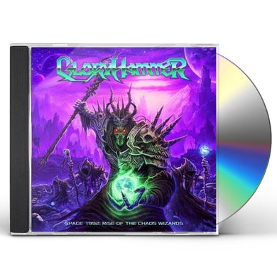 Gloryhammer SPACE 1992: RISE OF THE CHAOS WIZARDS CD