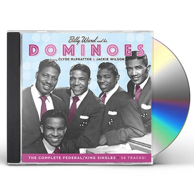 Billy Ward & His Dominoes COMPLETE FEDERAL / KING SINGLES CD