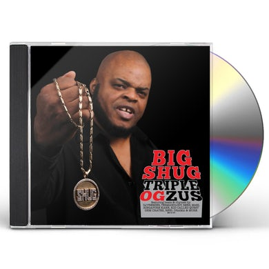 Big Shug TRIPLE OGZUS CD