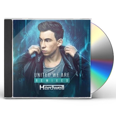 Hardwell UNITED WE ARE REMIXED CD