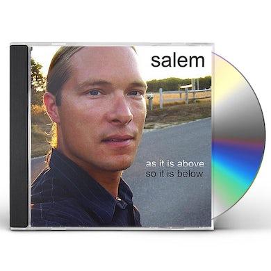 Salem AS IT IS ABOVE SO IT IS BELOW CD