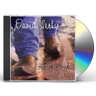 David Serby HONKY TONK & VINE CD