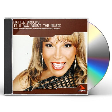 Pattie Brooks IT'S ALL ABOUT THE MUSIC-THE UK MIXES CD