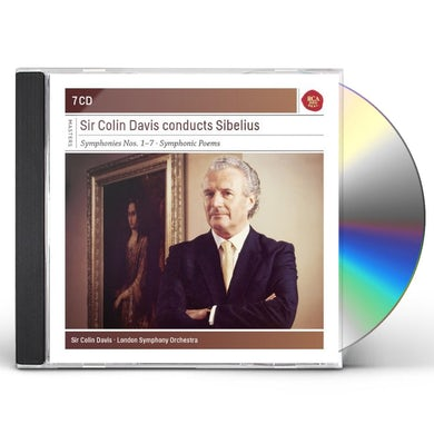 Colin Davis CONDUCTS SIBELIUS CD