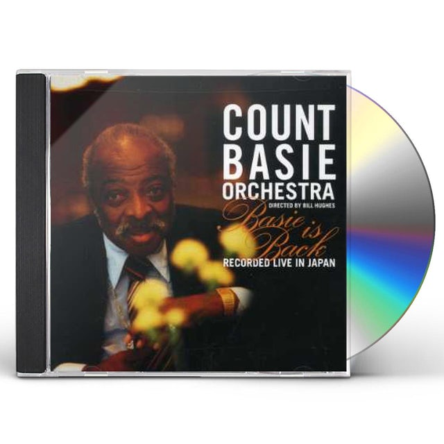 Count Basie BASIE IS BACK: RECORDED LIVE IN JAPAN CD