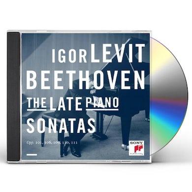 Igor Levit BEETHOVEN: THE LATE PIANO SONATAS CD