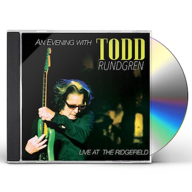 EVENING WITH TODD RUNDGREN-LIVE AT THE RIDGEFIELD CD