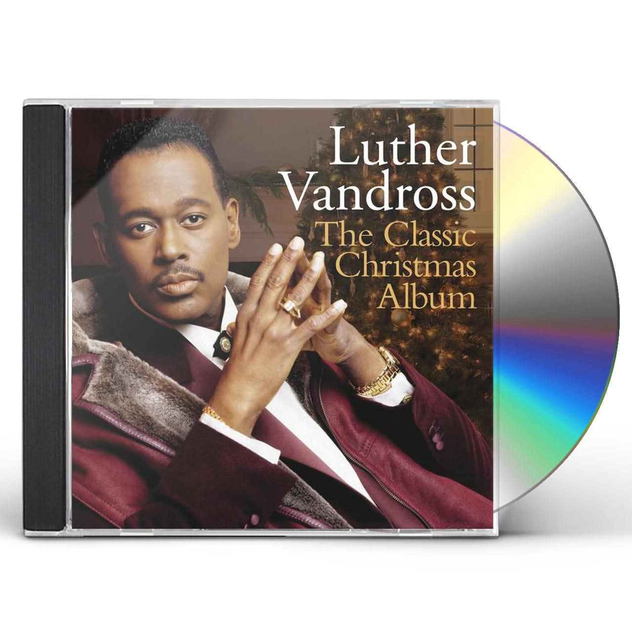Luther Vandross Christmas Album.Luther Vandross Classic Christmas Album Cd