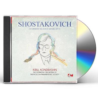 Shostakovich SYMPHONY NO. 10 IN E MINOR OP. 93 CD
