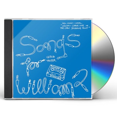 Ulrich Troyer SONGS FOR WILLIAM 2 CD
