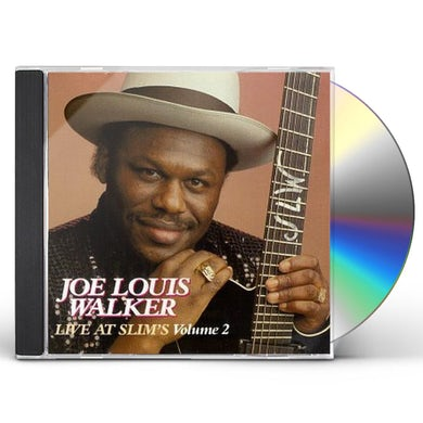 Joe Louis Walker LIVE AT SLIM'S 2 CD