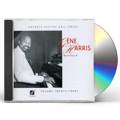 Gene Harris LIVE AT MAYBECK 23 CD