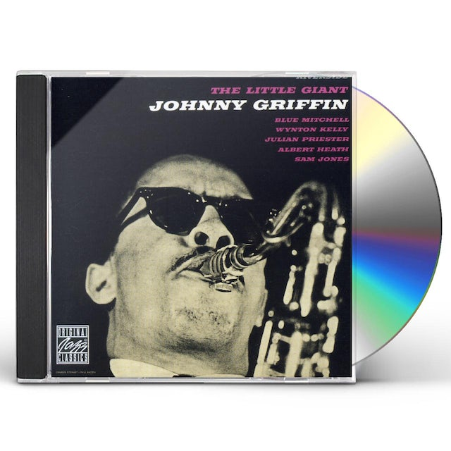 Johnny Griffin LITTLE GIANT CD