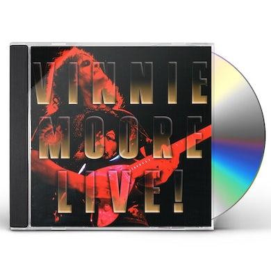 Vinnie Moore LIVE CD