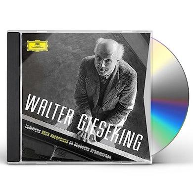 Walter Gieseking COMPLETE BACH RECORDINGS ON DEUTSCHE GRAMMOPHON CD