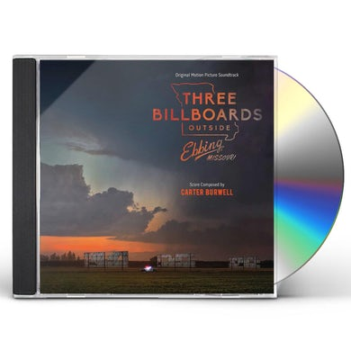 Carter Burwell THREE BILLBOARDS OUTSIDES EBBING MISSOURI / Original Soundtrack CD
