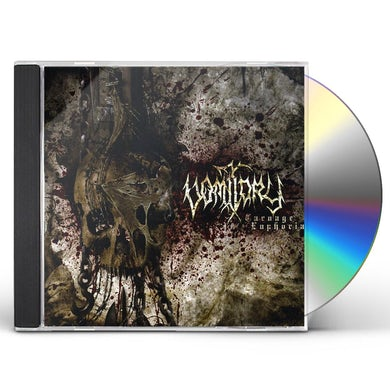 Vomitory CARNAGE EUPHORIA CD