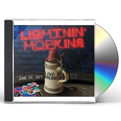 Lightnin Hopkins BLUES IN MUNICH 1977 CD