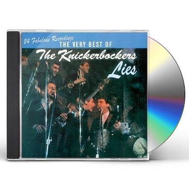 The Knickerbockers LIES: VERY BEST OF CD