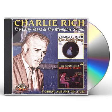 Charlie Rich EARLY YEARS / MEMPHIS SOUND CD