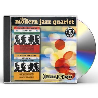 The Modern Jazz Quartet EUROPEAN CONCERT 1 & 2 CD