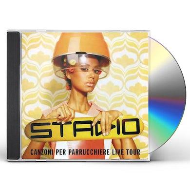 Stadio CANZONI PER PARRUCCHIERE LIVE TOUR CD