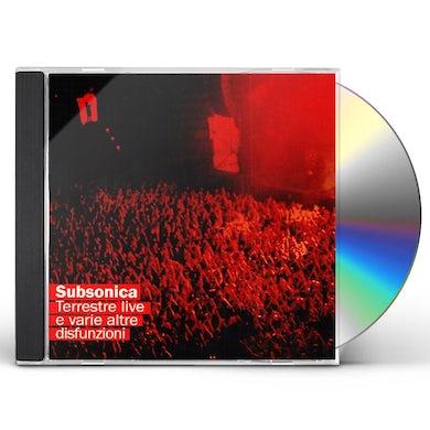 Subsonica TERRESTRE LIVE E VARIE ALTRE DISFUNZIONI CD