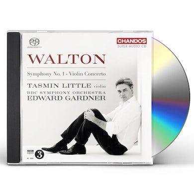 Walton SYM 1 & VIOLIN CTO CD Super Audio CD
