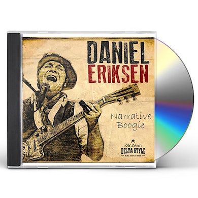 Daniel Eriksen NARRATIVE BOOGIE CD