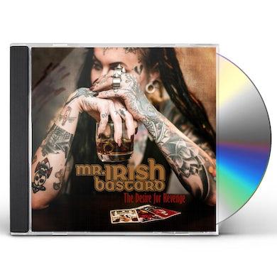 Mr. Irish Bastard DESIRE FOR REVENGE CD