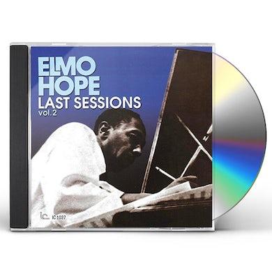 Elmo Hope LAST SESSIONS VOL 2 CD