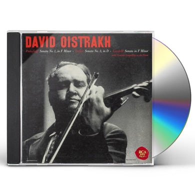David Oistrakh PROKOFIEV: VIOLIN SONATA NO. 1 CD
