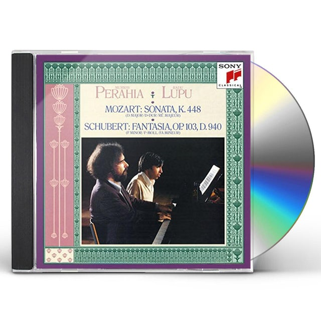Murray Perahia MOZART & SCHUBERT: WORKS FOR TWO CD